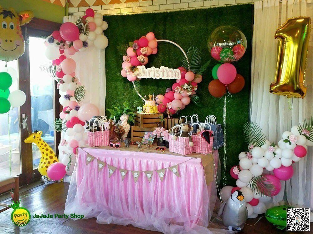 The Jungle Theme Birthday Party