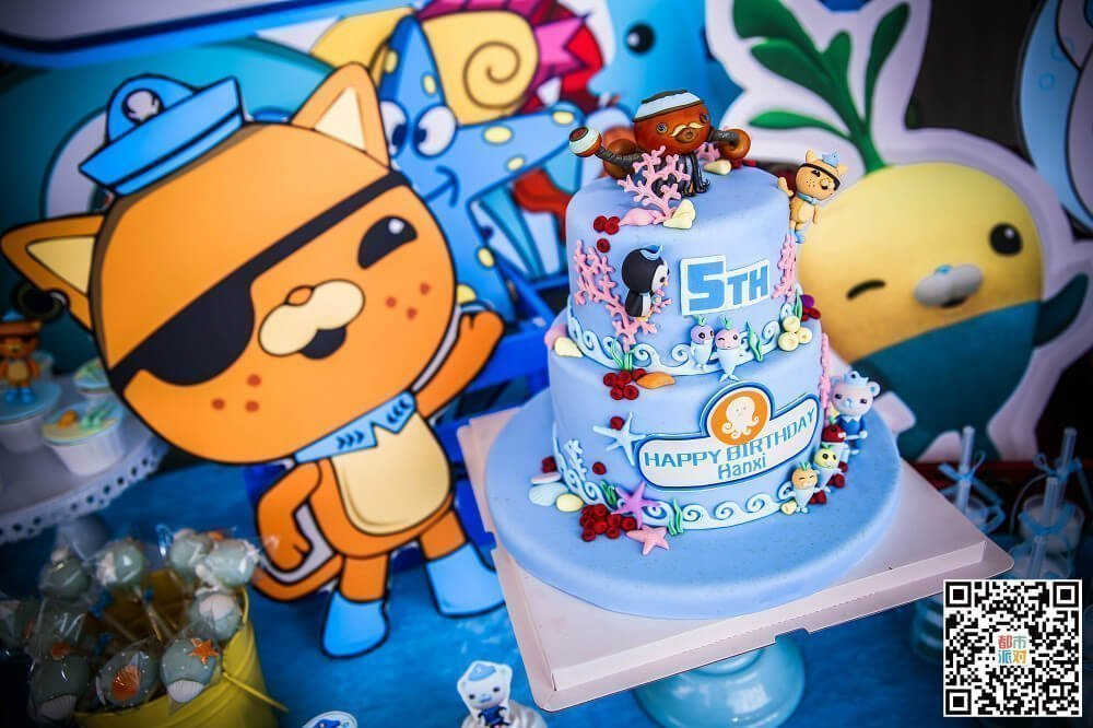 Ocean Theme Birthday Party For 5 Years Old Boy 9 Partymaker Cn