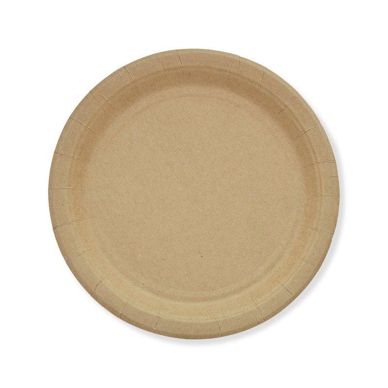 kraft paper plates