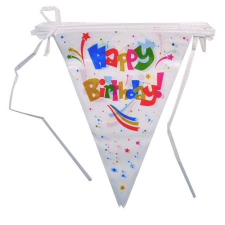 happy birthday pennant banners