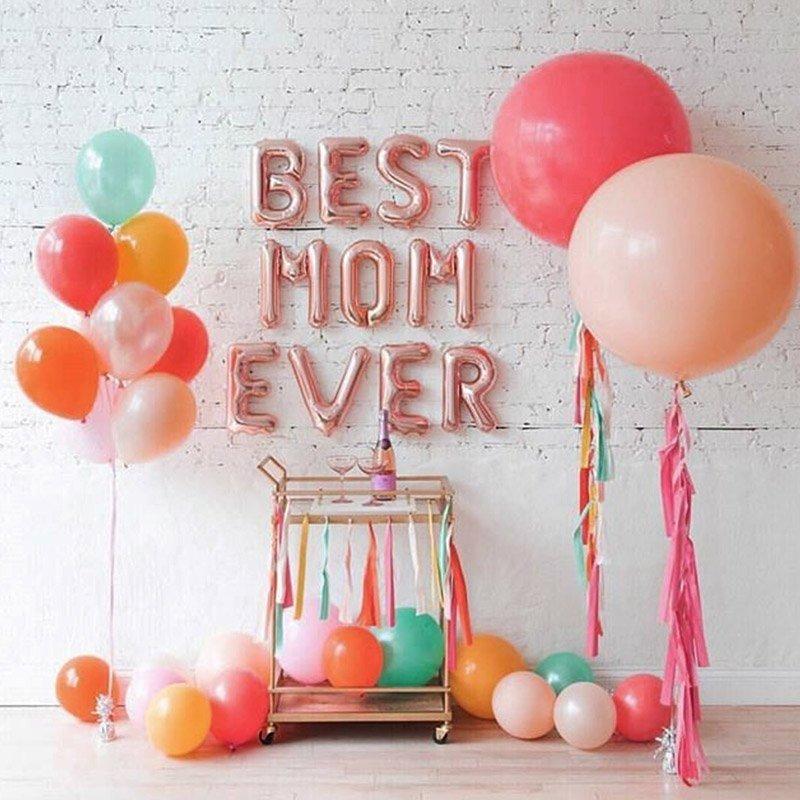 Letter ballons
