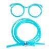 blue straws