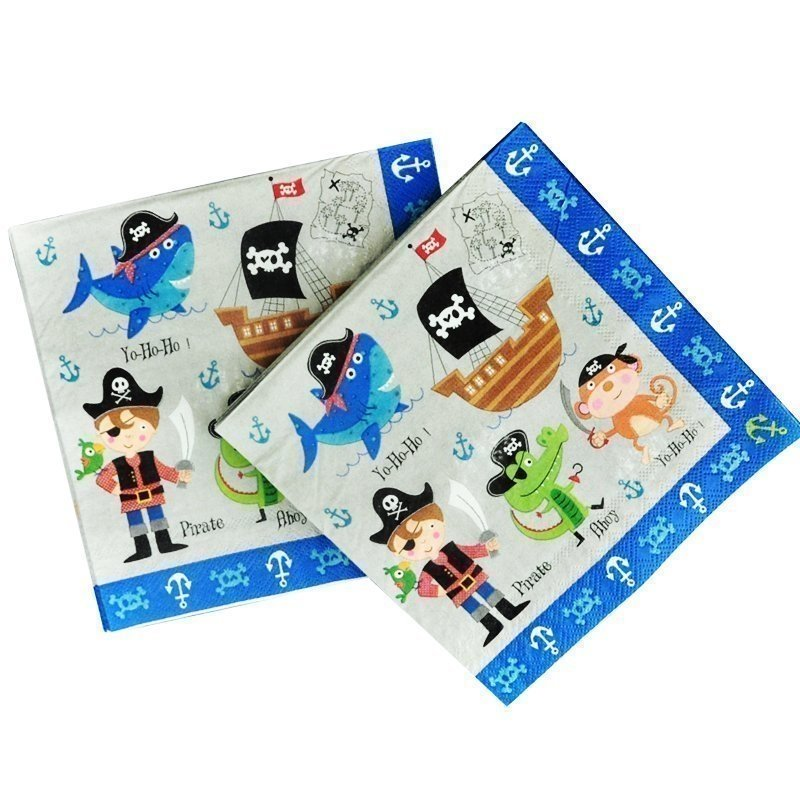 pirate paper napkins