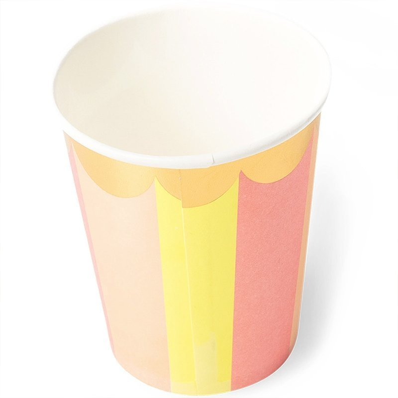 sunflower paper cups