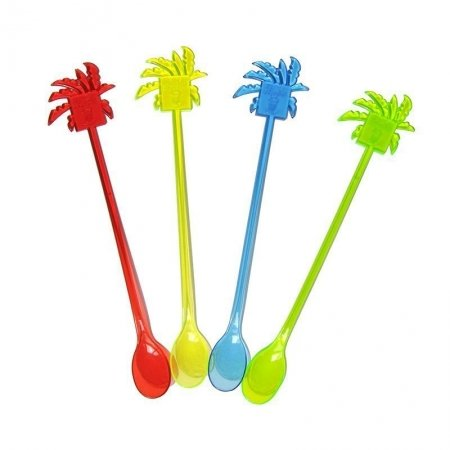 Coconut tree Coffee spoon drink stirrers
