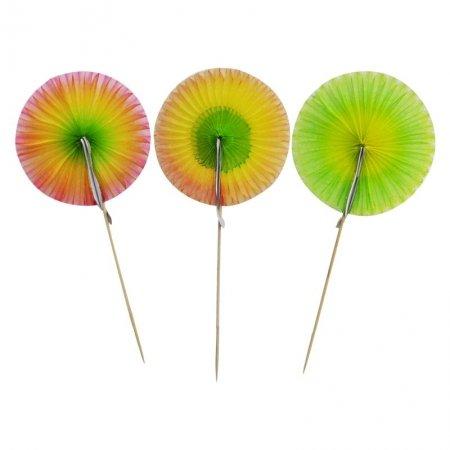 sunflower umbrella picks