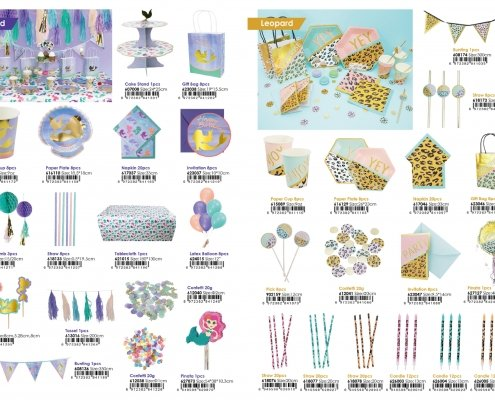 23pages of 2020 new catalog of party products from Partymaker.cn