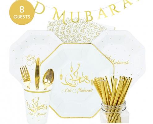 Eid mubarak party set