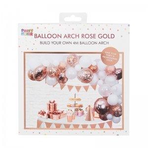 Rosegold balloon arch kit