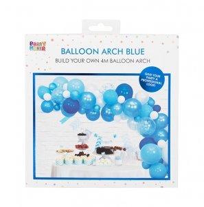 bluish balloon arch kit