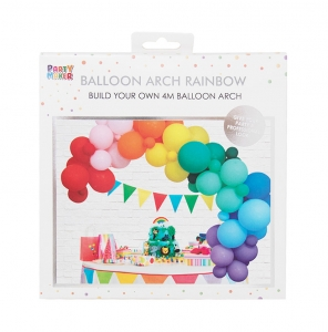 colorful balloon arck kit
